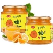 慢津贴:琼皇 蜂蜜柚子茶 500g*2瓶