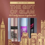 Maybelline The Gift Of Glam 迷你睫毛膏和眼线笔化妆礼品套装  含税到手48.81