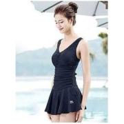 LI-NING 李宁 LSLL304-2 女士连体裙式泳衣