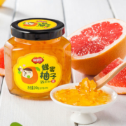 固态无含量40%+,补充每日VC:240gx2罐 福事多 蜂蜜柚子/柠檬/百香果茶