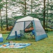 MOBIGARDEN 牧高笛 NX20561015 户外露营快搭帐篷 + 冷山cm帐篷 +凑单品