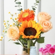 PLUS会员:花点时间 冬之浪漫 定制花束 颜色随机9.9元包邮(需用券)