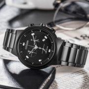 CITIZEN 西铁城 PARADEX AT2405-87E 男士光动能手表