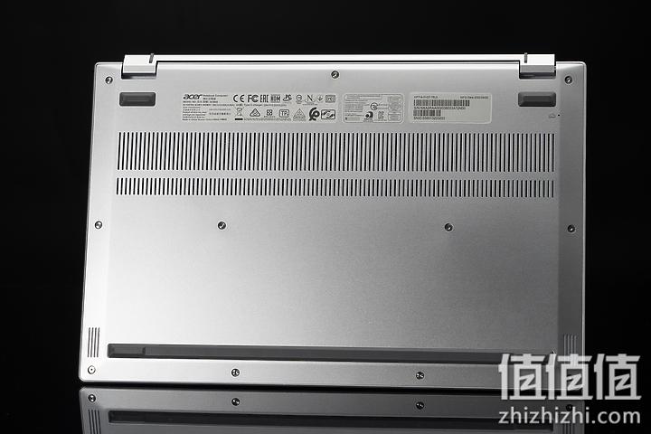 Acer 宏碁 Book RS 保时捷限量版笔记本电脑底部