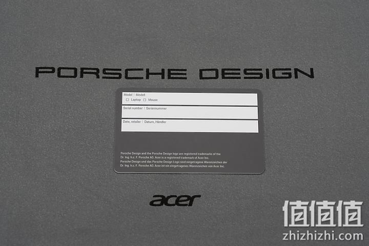 Acer 宏碁 Book RS 保时捷限量版笔记本电脑保修信息