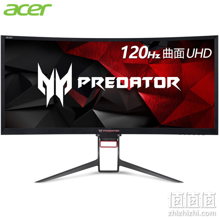 Acer 宏碁 掠夺者Z35P 35英寸1800R曲率电竞G-Sync技术120Hz 21:9 UHD 100%sRGB 曲面电竞显示器