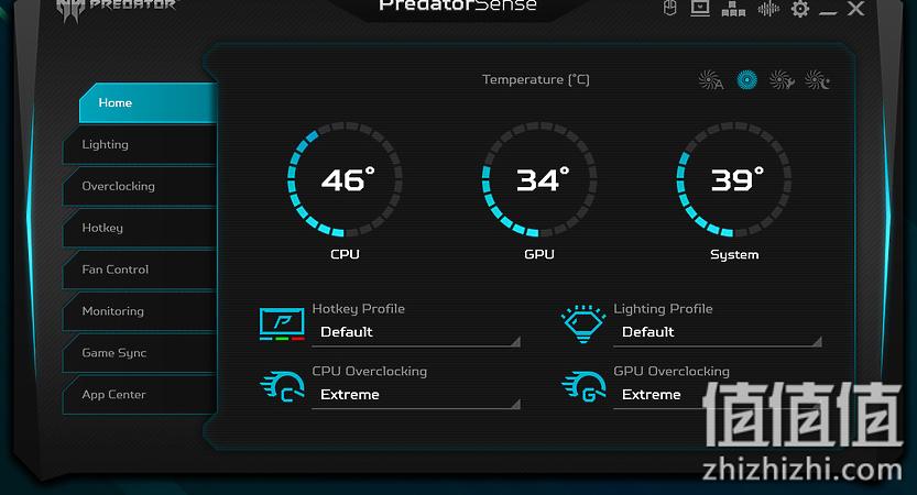 Acer 宏碁 掠夺者战斧700 游戏本PredatorSense软件