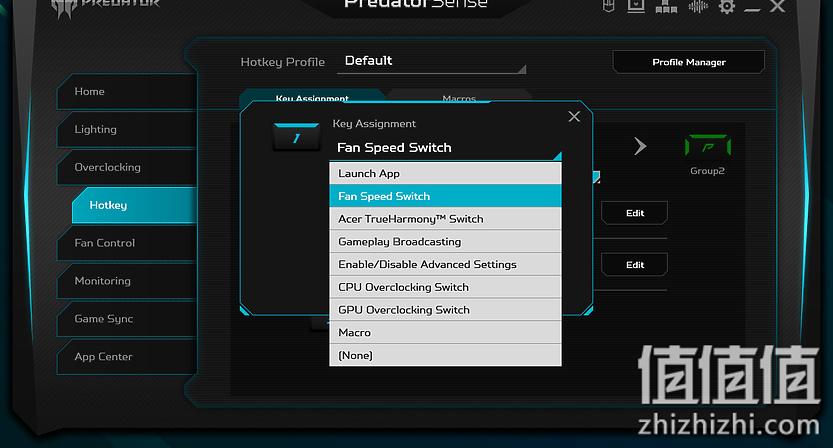 Acer 宏碁 掠夺者战斧700 游戏本PredatorSense 热键功能