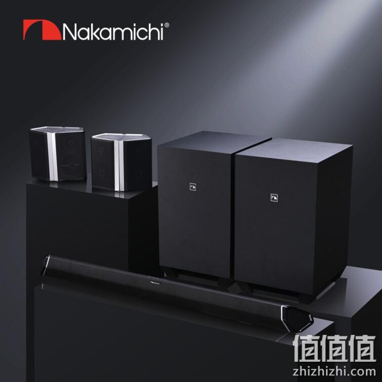 Nakamichi 中道家庭影院套装条形音箱 Ultra9.2.4声道杜比全景声蓝牙回音壁