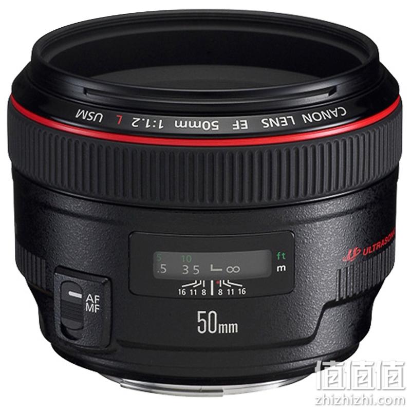 Canon 佳能 EF 50mm f1.2L USM 定焦镜头 人像定焦王
