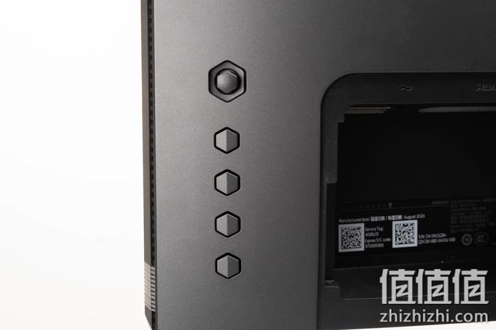 Alienware 外星人 AW2521H游戏显示器的按键