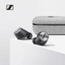 Sennheiser 森海塞尔 Momentum True Wireless 馒头真无线蓝牙智能降噪运动耳机 HIFI入耳式耳机 黑色