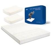 考拉海购黑卡会员: TAIPATEX 乳胶床垫(送乳胶枕*2)200*150*5cm