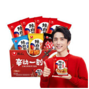 NONGSHIM 农心 辣白菜系列方便面 7连包 879g *2件