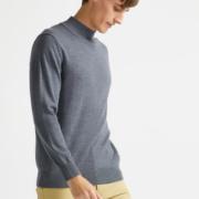 拉夫劳伦制造商 本米 男100%美利奴羊毛衫