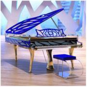 Bluthner 博兰斯勒 Crystal HIVE/190cm德国原装进口高端定制水晶钢琴