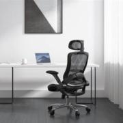 黑白调(Hbada)电脑椅 黑色 不带脚托