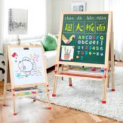 yestep 儿童实木 可升降 磁性双面写字板 E款