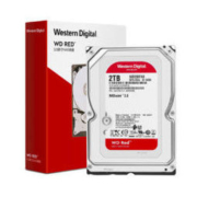 Western Digital 西部数据 红盘 NAS台式机硬盘 2TB 5400rpm 256MB WD20EFAX