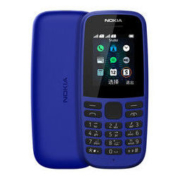 NOKIA 诺基亚 105 直板按键老人手机 移动联通2G 蓝色