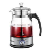 志高 黑茶壶煮茶器蒸汽喷淋玻璃壶电热水壶Z506升级保温款 升级带保温