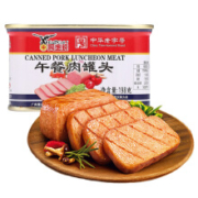 plus会员:鹰金钱  中华老字号  午餐肉罐头198克/罐*6件