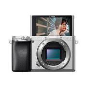 SONY 索尼 Alpha系列 Alpha 6100 APS-C画幅微单数码相机 单机身 银色