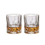 SURANER 舒拉娜 玻璃威士忌酒杯 帝华款 217ml*2个装