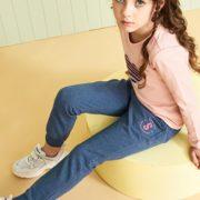 柔软亲肤!水孩儿女童时尚休闲针织运动裤¥49.00 2.5折 比上一次爆料降低 ¥10