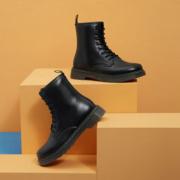 hotwind 热风 H095M0838201 男士时尚系带马丁靴