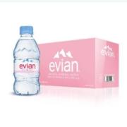 88VIP:Evian 依云 天然水源弱碱性水饮用水 330ml*24瓶