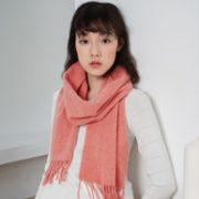 茵曼 2020新款100%纯羊毛+羊绒围巾