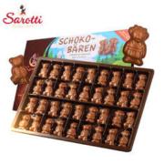 Sarotti 萨洛缇 小熊纯牛奶巧克力 100g *3件
