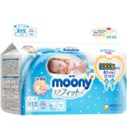 PLUS会员、限地区:moony 尤妮佳婴儿纸尿裤NB30片