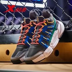 XTEP 特步 981419121255 男子高帮篮球鞋