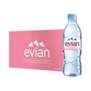 88VIP:Evian 依云 天然水源弱碱性水饮用水 500ml*24瓶