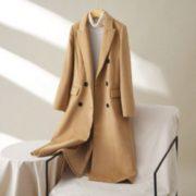 Puella 20012544 女款长款羊毛混纺大衣