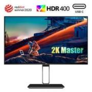 21日0点: AOC 冠捷 Q27U2D 27英寸IPS显示器 (2K、HDR400、91% P3色域、65W Type-C)