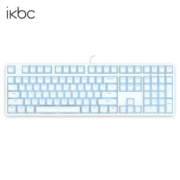 ikbc F-108 时光机 108键 机械键盘(Cherry红轴、白色)