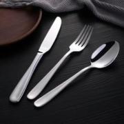 Bestart 304不锈钢西餐餐具刀叉勺三件套 C124A