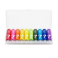 ZMI 紫米 彩虹碱性电池 7号10粒装