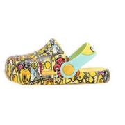 B.Duck 儿童休闲凉鞋 B1175329 黄色 20码