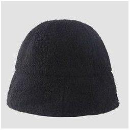 播提 20191212 毛茸茸盆帽 黑色