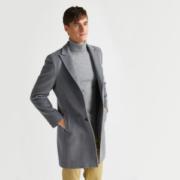拉夫劳伦制造商 本米 男50%美利奴羊毛大衣
