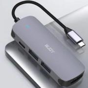 WJOY Type-C扩展坞拓展坞(HDMI、USB3.0、手机OTG、Type-C接口)