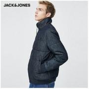 JackJones杰克琼斯 220157517Z 牛仔立领夹克