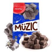 munchy's马奇新新 夹心巧克力威化饼干 90g *10件29元(双重优惠,合2.9元/件)