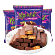 kdv  俄罗斯紫皮糖  巧克力糖果  约71颗