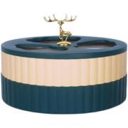 北欧麋鹿果盒双层6格可透视果盘