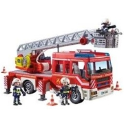 playmobil 摩比世界 9463 机场消防车 声光板 *3件